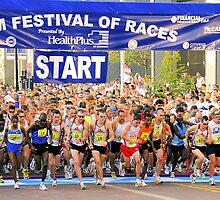 Crim Festival of Races Start by Mark Bolen
