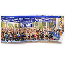 Crim Festival of Races Start Poster