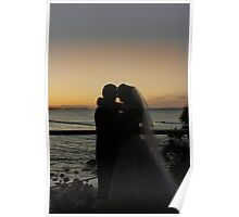Silhouetted Love Poster