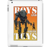 Boys and their toys iPad Case/Skin