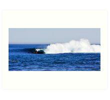 Shark Island - Cronulla - The Drop Art Print