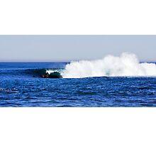Shark Island - Cronulla - The Drop Photographic Print