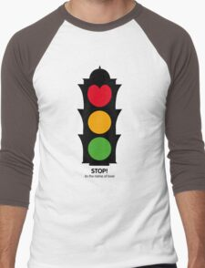 STOP! Men's Baseball ¾ T-Shirt