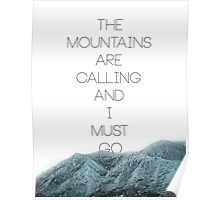 Mountains Are Calling2 Poster