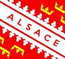 Alsace flag by tony4urban