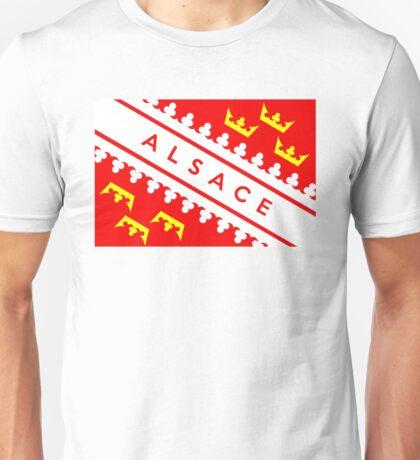 Alsace flag Unisex T-Shirt