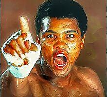 Ali Sweat by 4everart