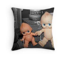 Kewpie Dolls Throw Pillow