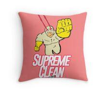 Supreme Clean Throw Pillow