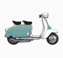 1960s Li 125 Series 3 Innocenti Scooter Design Baby Tee