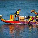 Dragon boat race by Celeste Mookherjee
