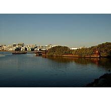 Two Shipwrecks @ Homebush Bay 2010 Photographic Print
