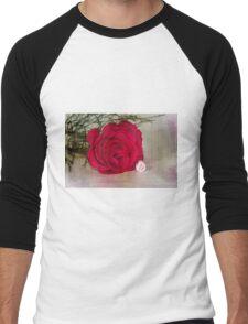 Love YOU Rose  Men's Baseball ¾ T-Shirt