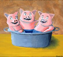 Pigs in a Tub by Wintoons