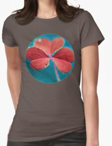 You turn my heart every which way. Womens Fitted T-Shirt