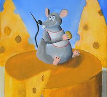 Cheese Rat by Wintoons