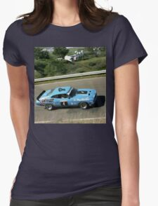 Ford Falcon Hardtop @ Mount Panorama,Australia 1978 Womens Fitted T-Shirt