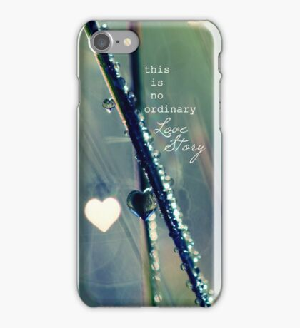 No Ordinary Love Story iPhone Case/Skin