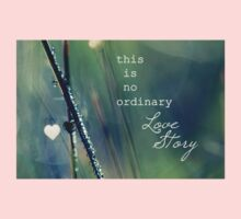 No Ordinary Love Story Kids Tee