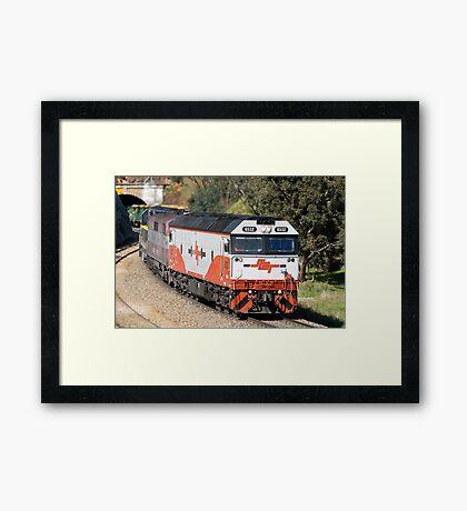 El Zorro Grain Train. Framed Print