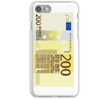 200 Euro Note iPhone Case/Skin