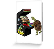Arcade Ninja Turtle Greeting Card
