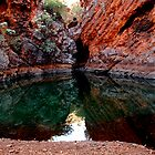 The grotto at Stockyard pool by Duncan Drummond
