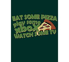 Eat Some Pizza Photographic Print