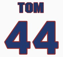 National baseball player Tom Buskey jersey 44 by imsport