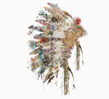 Native Headdress One Piece - Short Sleeve