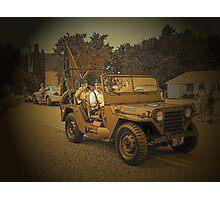 Retired Jeep Photographic Print