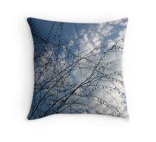 Vanilla Skies Throw Pillow