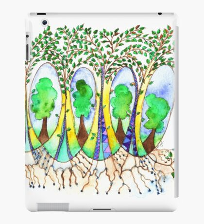 Forest for the Leaves iPad Case/Skin