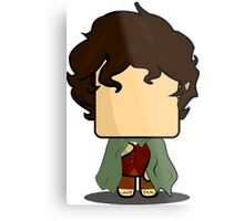 Frodo Baggins (The Lord Of The Rings) Quin Metal Print