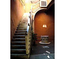 Venetian Stairway Photographic Print
