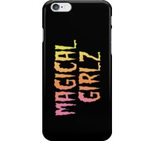 Magical Girlz halftone iPhone Case/Skin