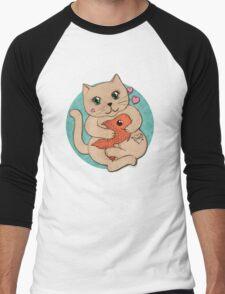 Sushi Love Men's Baseball ¾ T-Shirt