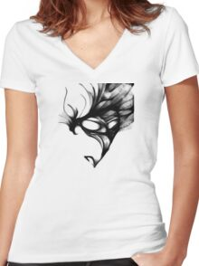 cool sketch 2 Women's Fitted V-Neck T-Shirt
