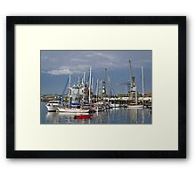 Falmouth Harbour and Docks Framed Print