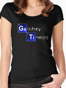Elements of Time Travel Women's Fitted Scoop T-Shirt