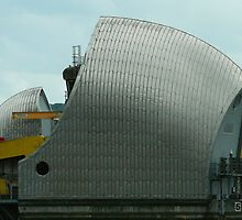 Thames Barrier by DavidFrench