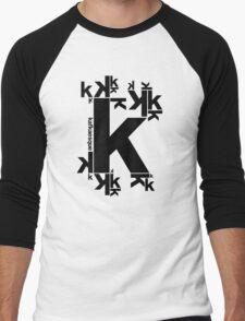 KAFKAESQUE Men's Baseball ¾ T-Shirt