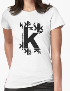 KAFKAESQUE Womens Fitted T-Shirt