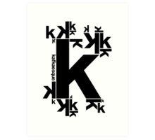 KAFKAESQUE Art Print