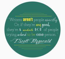 F Scott Fitzgerald Quote by kelseybelle