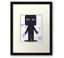 Enderman (Minecraft) Quin Framed Print