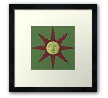 Solaire's Sun Framed Print