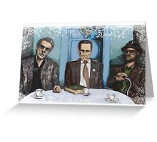 OLD GANGSTERS Greeting Card