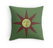 Solaire's Sun Throw Pillow