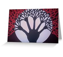 Tree of Life & Death Greeting Card